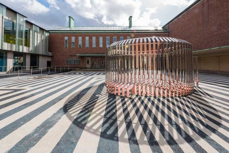 Het museum van Boijmansvan beuningen in Rotterdam Nederland stock afbeeldingen