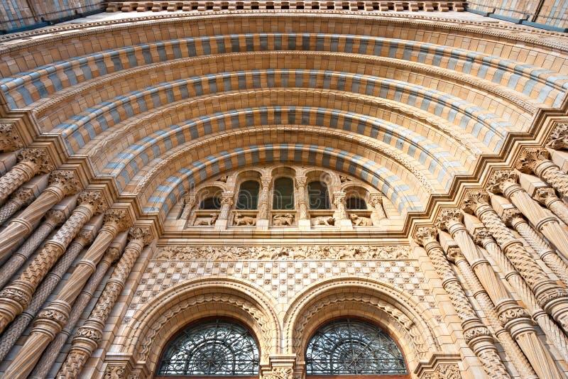 Het Museum van de Biologie, Londen. stock foto's