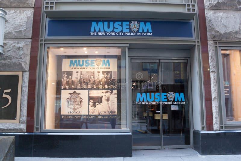 Het Museum van de de Stadspolitie van New York stock foto's