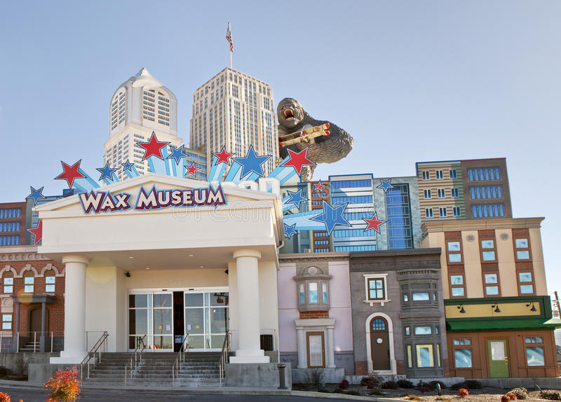 Het Museum van de Hollywoodwas in Duif smeedt, Tennessee royalty-vrije stock afbeelding