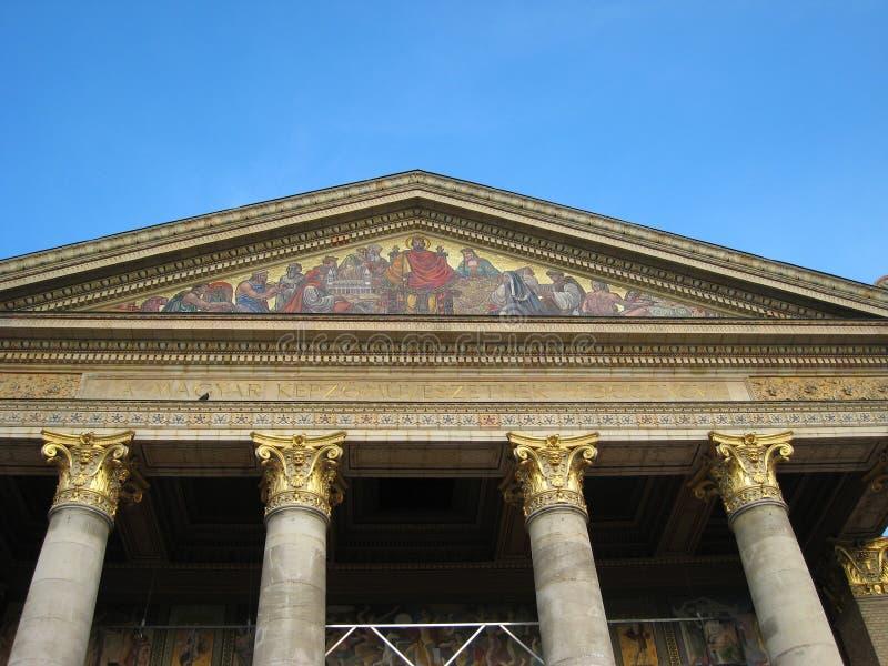 Het Museum van de Kunst van Boedapest stock afbeeldingen
