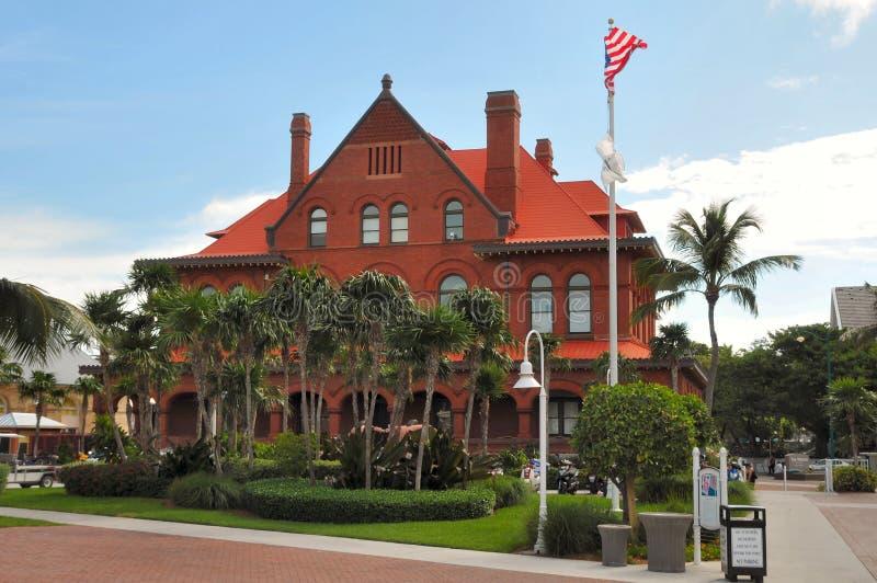 Het museum van de Kunst van Key West Florida stock foto's