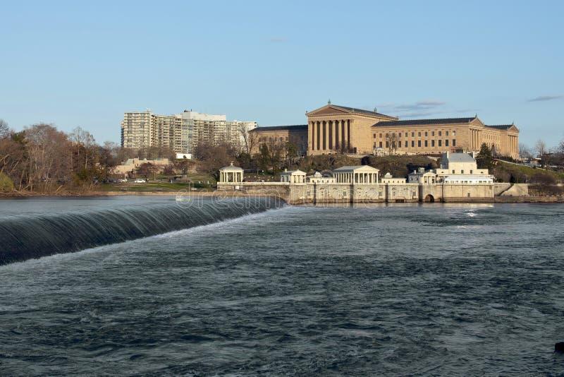 Het Museum van de Kunst van Philadelphia stock afbeeldingen