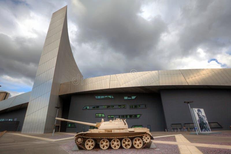 Het Museum van de Oorlog van Impeial bij Salford Kaden, Manchester, U royalty-vrije stock fotografie