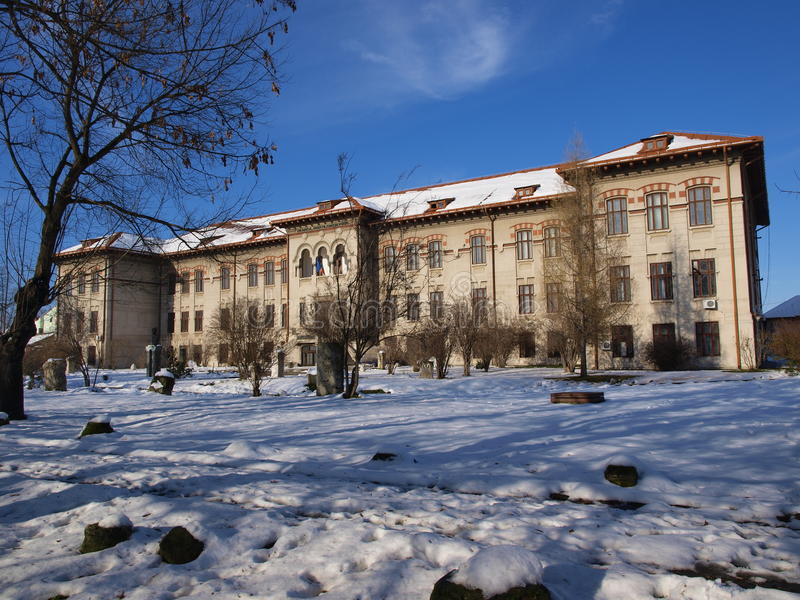 Het Museum van de Poort van het ijzer, Severin, Roemenië (2) royalty-vrije stock foto's