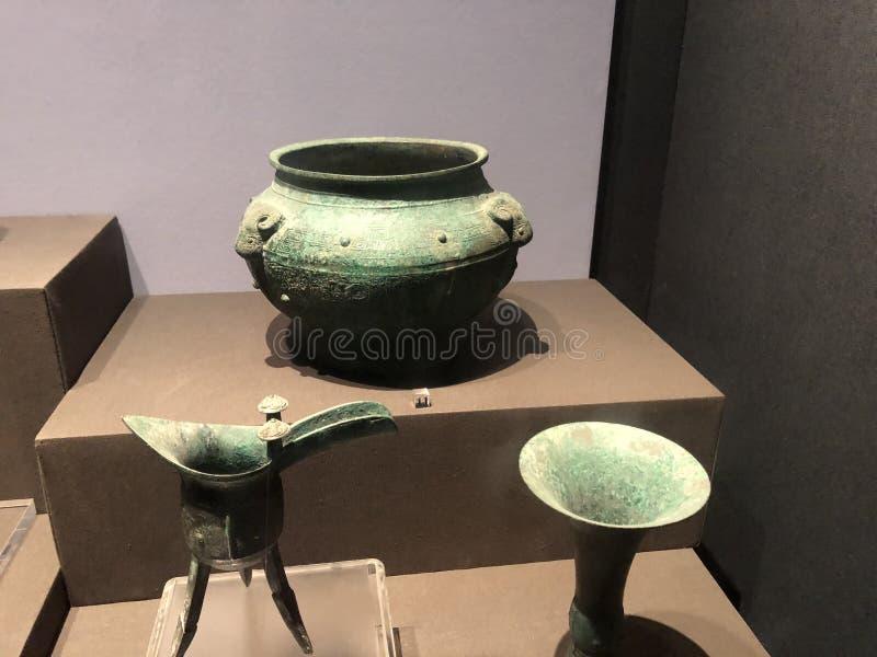Het Museum van de Shaanxigeschiedenis royalty-vrije stock foto