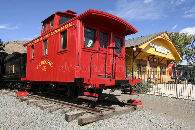 Het Museum van de Spoorweg van Colorado stock foto's