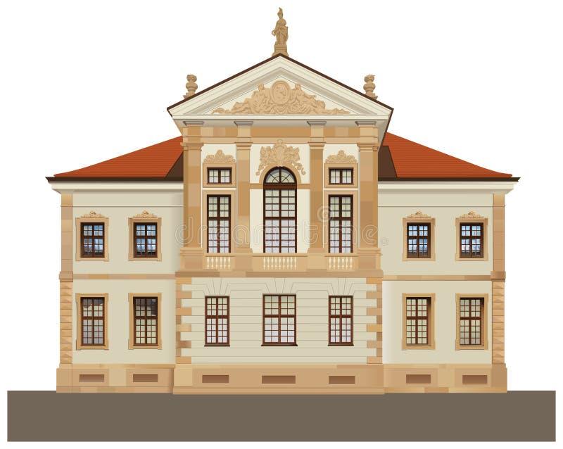 Het Museum van de Staat van Chopin in Warshau vector illustratie