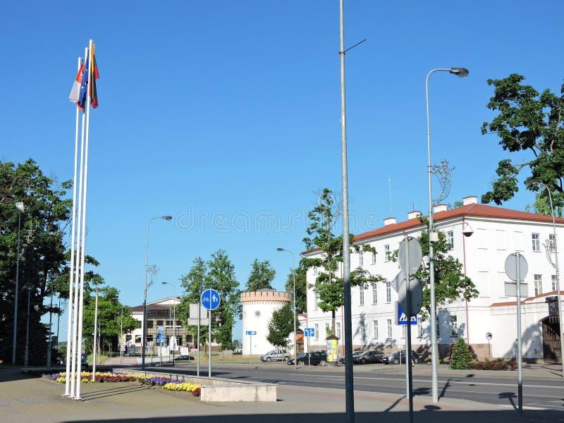 Het museum van de Tauragestad, Litouwen stock fotografie