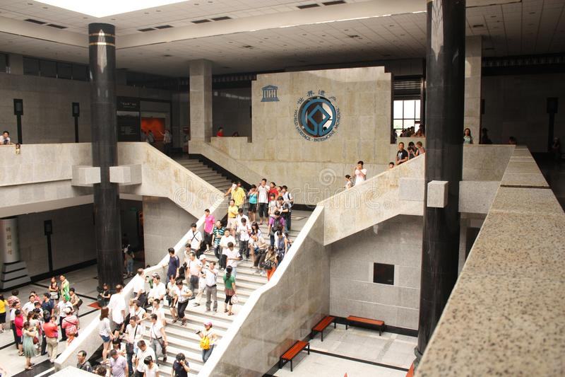 Het museum van de Unescoerfenis van het bezoek royalty-vrije stock foto