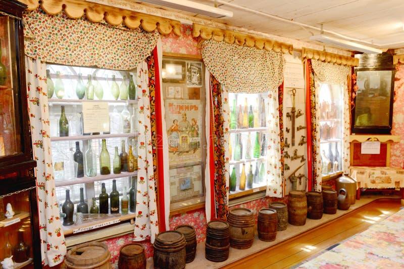Het museum van de wodka royalty-vrije stock fotografie