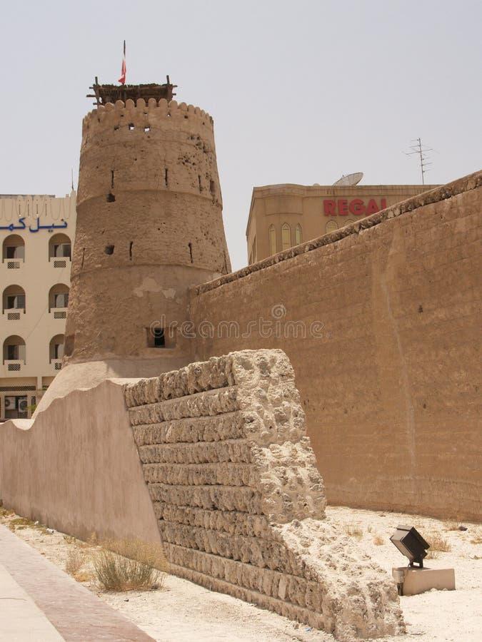 Het Museum van Doubai, de V.A.E stock fotografie