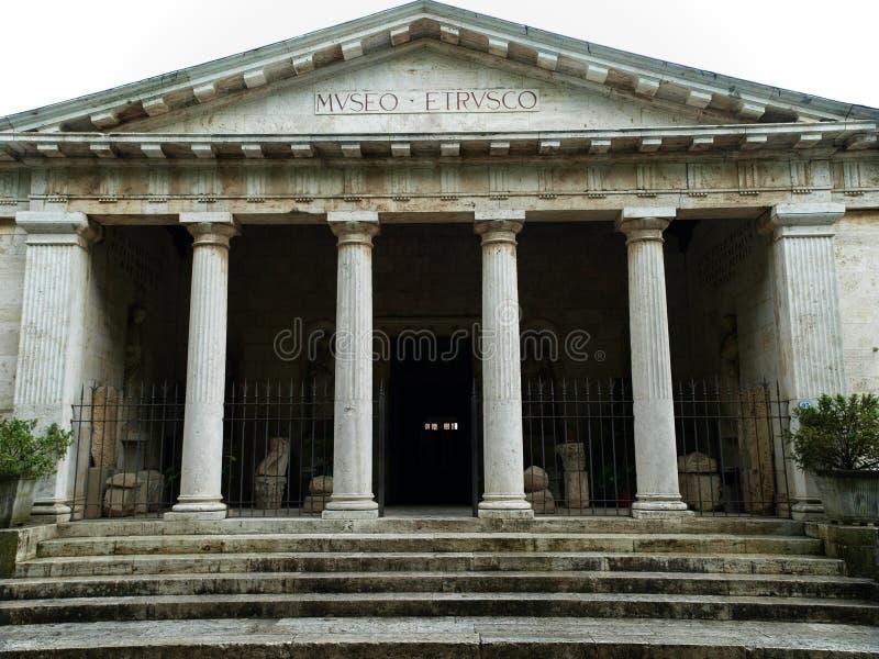 Het museum van Etruscan in Chiusi, royalty-vrije stock afbeeldingen