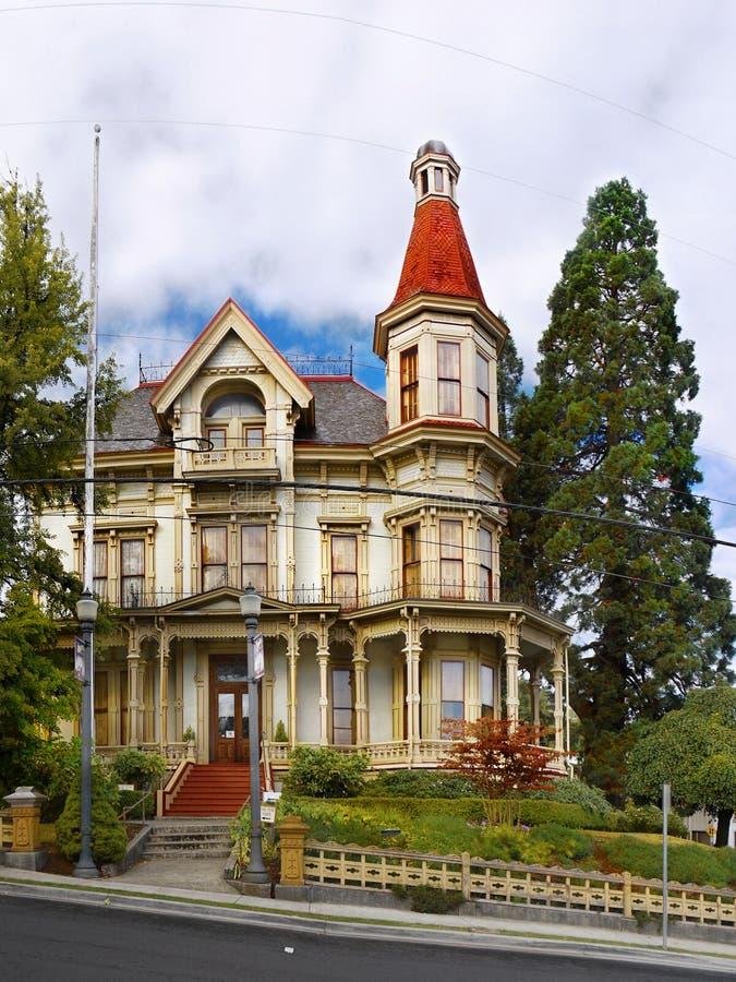 Het Museum van het Flavelhuis, Astoria Oregon royalty-vrije stock foto's