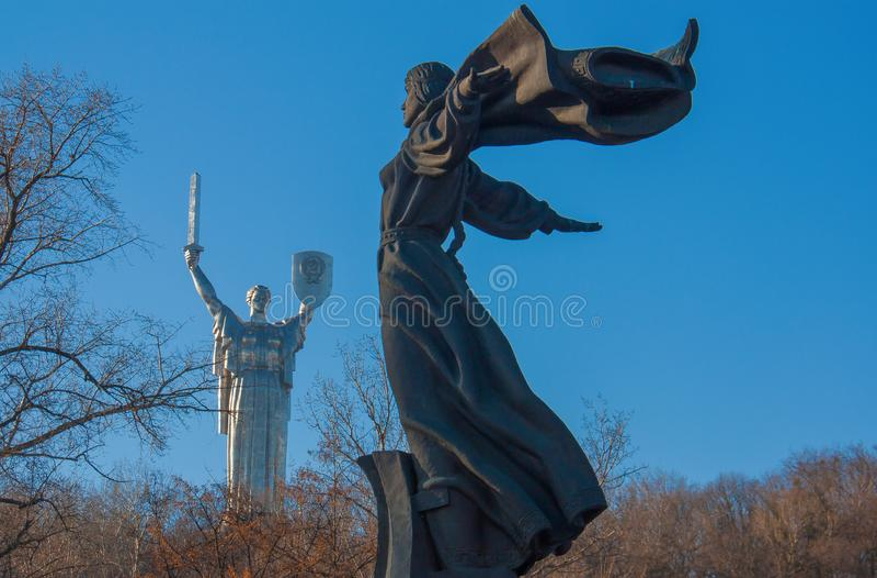 Het Museum van Geschiedenis van de Oekraïne, Kiev royalty-vrije stock afbeeldingen