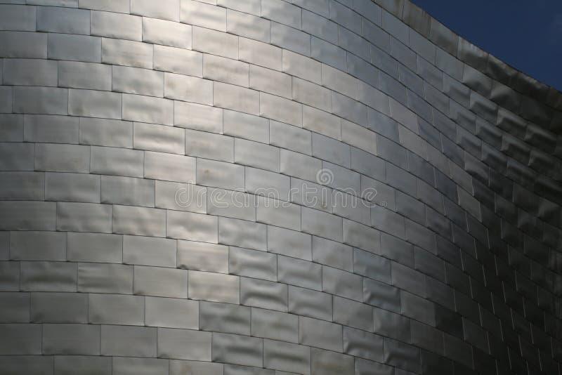 Het museum van Guggenheim in Bilbao stock foto