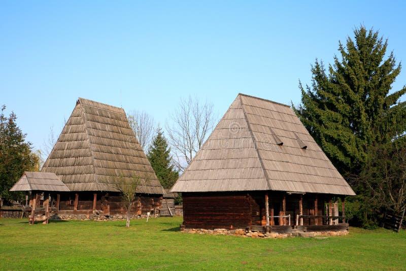 Het Museum van het dorp stock foto