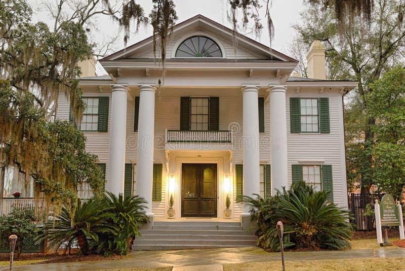 Het Museum van het Knotthuis in Tallahassee, Florida stock afbeelding