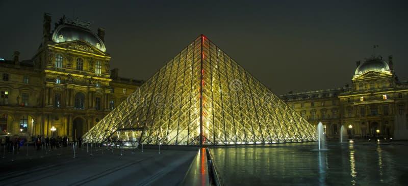 Het museum van het Louvre royalty-vrije stock fotografie
