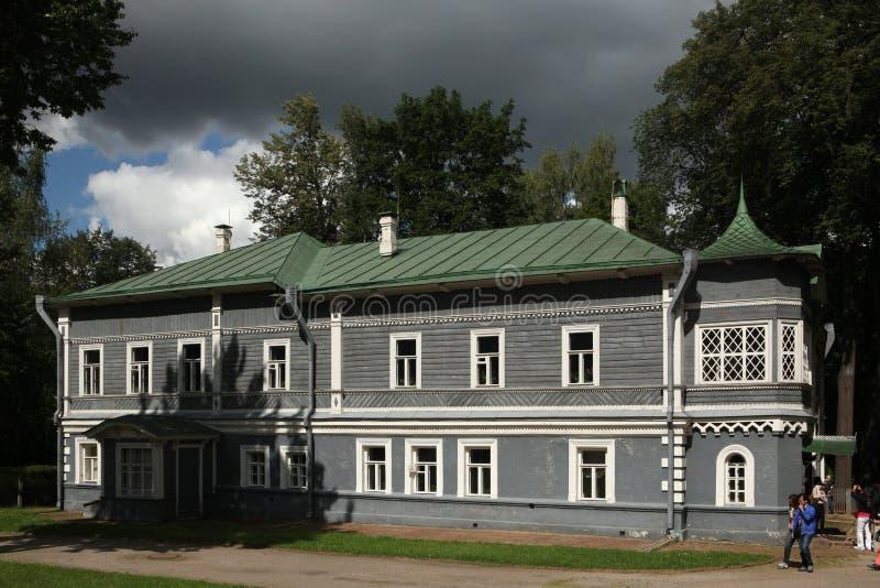 Het Museum van het Tchaikovskyhuis in Klin, Rusland royalty-vrije stock afbeelding
