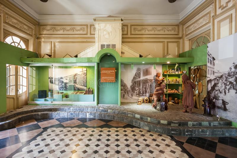 Het Museum van Ho-Chi-Minh-Stad stock afbeelding