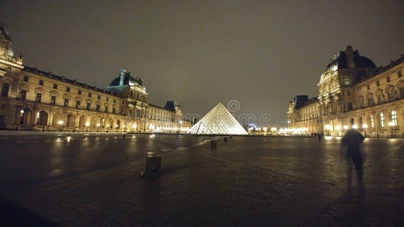 Het museum van het Louvre royalty-vrije stock foto's