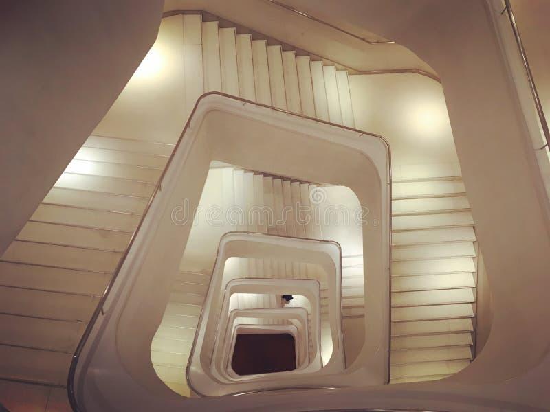 Het museum van Madrid van het Caixaforum steasr stock afbeeldingen
