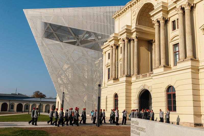 Het Museum van Militar Historisches van Dresden royalty-vrije stock afbeelding