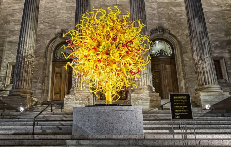 Het museum van Montreal van beeldende kunsten royalty-vrije stock foto