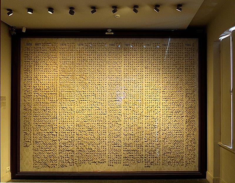 Het museum van onschuld royalty-vrije stock afbeelding