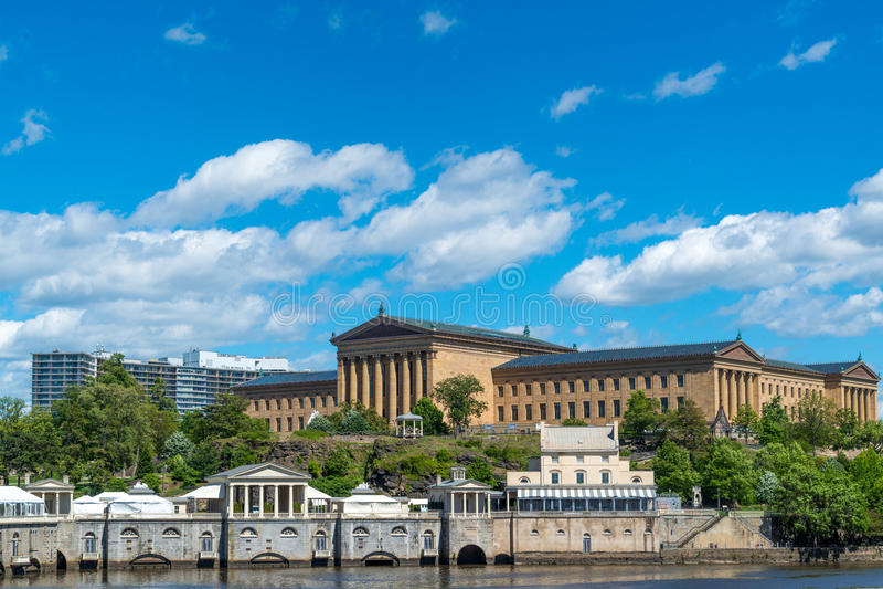 Het Museum van Philadelphia van art. stock fotografie