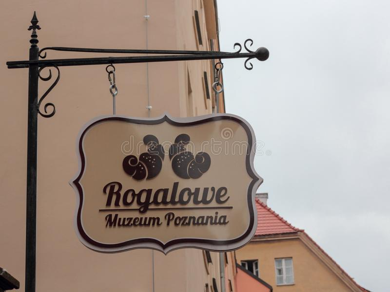 Het Museum van Poznan stock foto