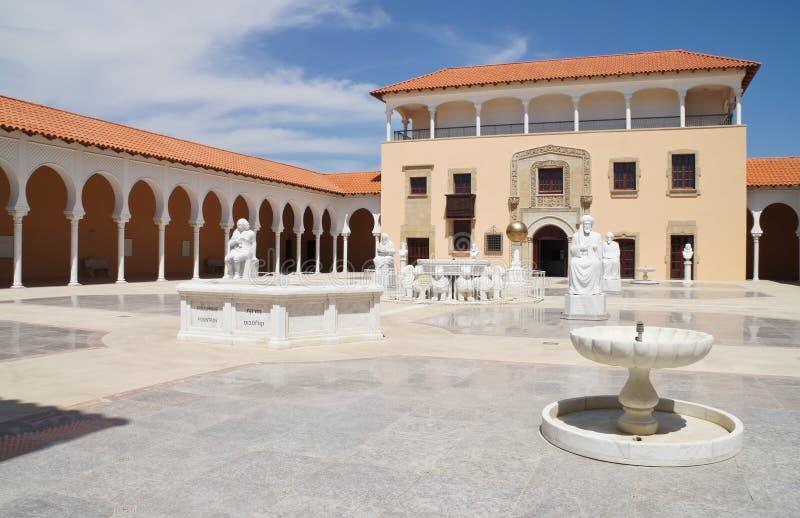Het Museum van Ralli in Caesarea. Israël stock afbeeldingen