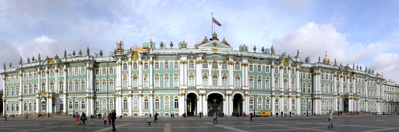 Het Museum van Rusland Heilige Petersburg Ermitage royalty-vrije stock foto