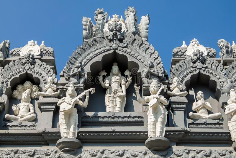 Het Museum van Srivenkateswara van Tempelkunst in Tirupati, India royalty-vrije stock afbeelding