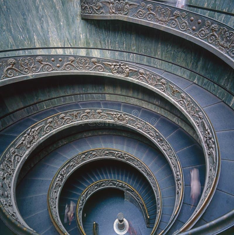 Het Museum van Vatikaan, Rome stock foto's
