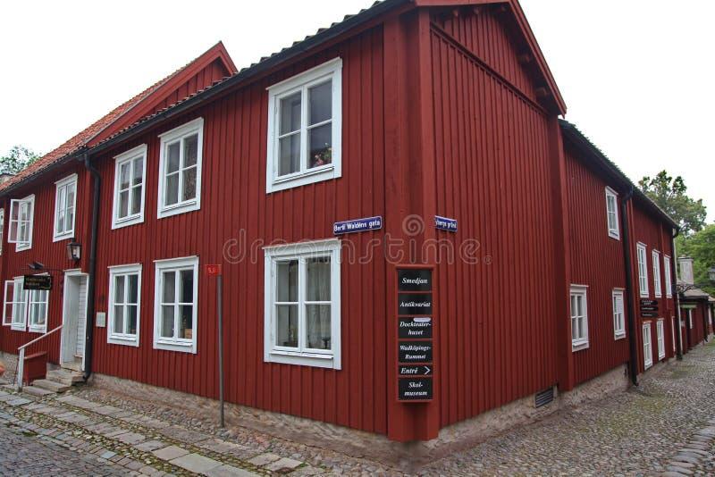 Het museum van Wadkoping stock afbeeldingen