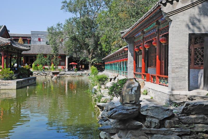 Het Museum van Wang Fu van de gong stock afbeelding