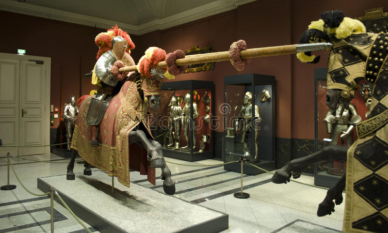 Het museum van Zwinger, Dresden stock afbeelding