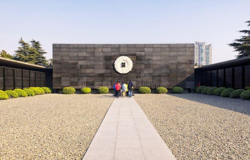 Het Museumplaats van de Nanjingsslachting royalty-vrije stock afbeeldingen