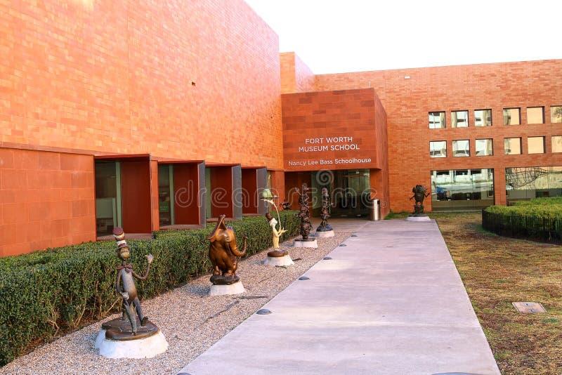 Het Museumschool van Fort Worth royalty-vrije stock foto's
