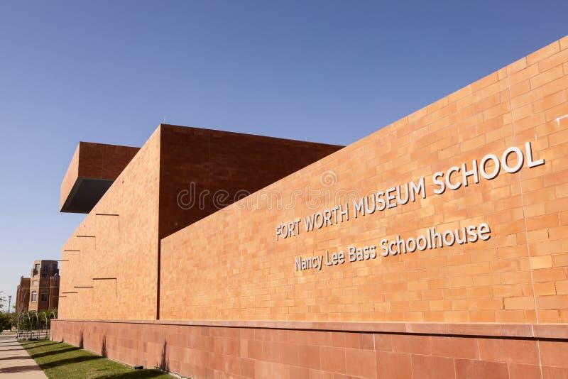 Het Museumschool van Fort Worth Texas, de V.S. royalty-vrije stock fotografie