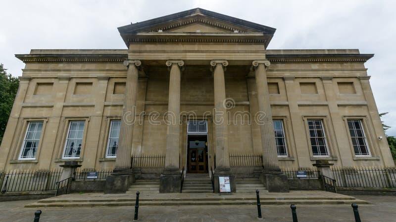 Het Museumvoorgevel van Swansea royalty-vrije stock afbeelding