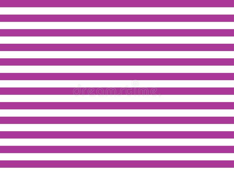 Het naadloze geometrische minimalistische patroon van de streeplijn in ultraviolette schakelaar witte kleur in horizontale dikke  stock fotografie