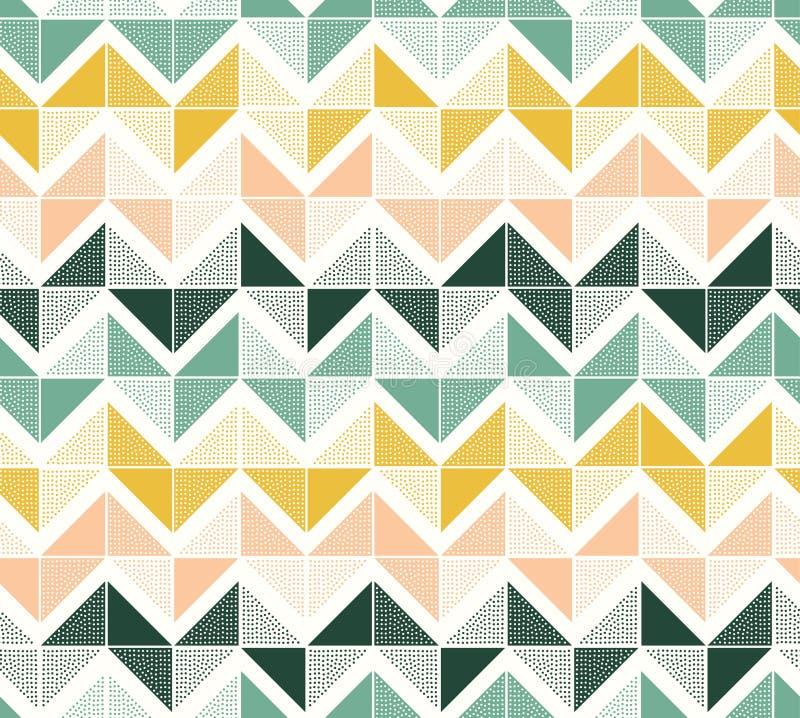 Het naadloze geometrische patroon van de puntentextuur royalty-vrije illustratie
