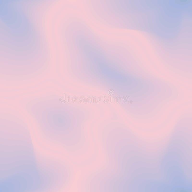 Het naadloze patroon, nam kwarts toe & boog de sereniteit lijnen stock illustratie