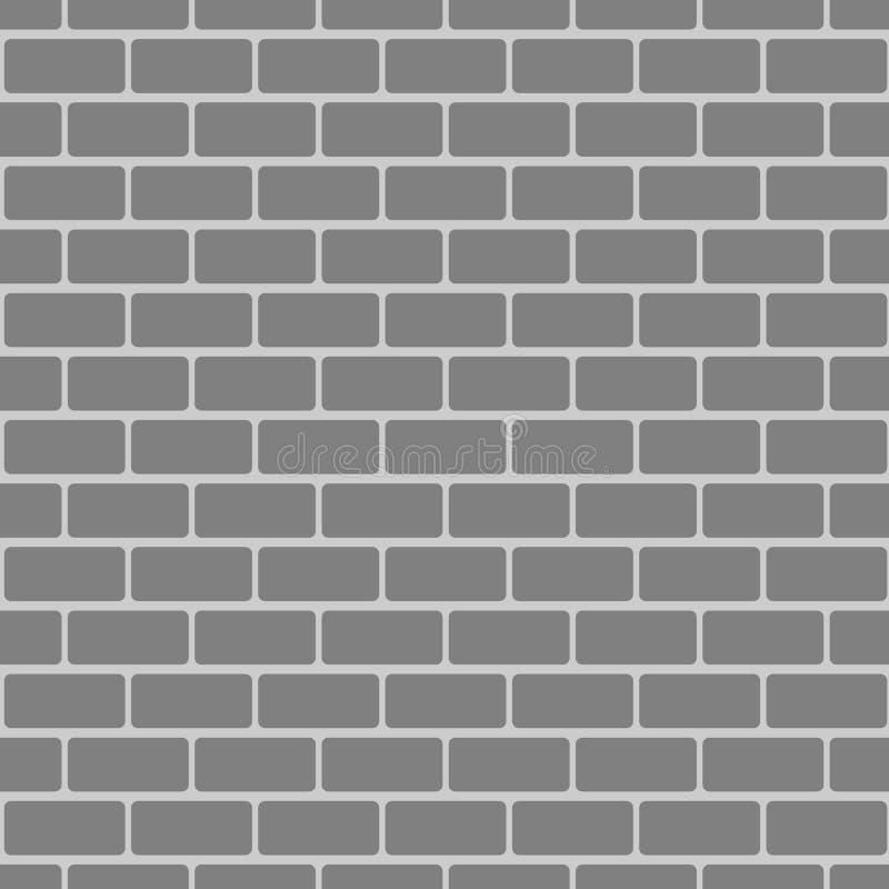 Het naadloze patroon van de baksteen royalty-vrije illustratie
