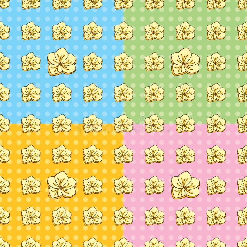 Het naadloze Patroon van de Boterbloem royalty-vrije stock afbeelding