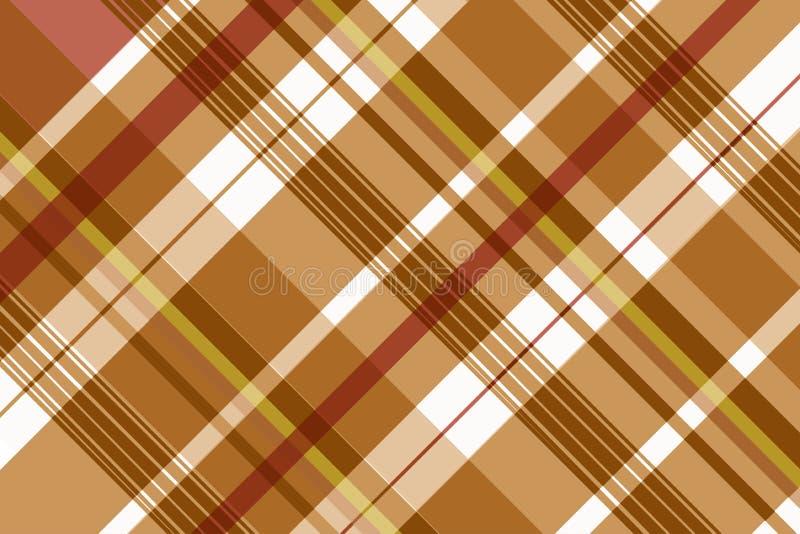 Het naadloze patroon van de geruit Schots wollen stofplaid Textuur voor - plaid, tafelkleden, kleren, overhemden, kleding, docume royalty-vrije illustratie