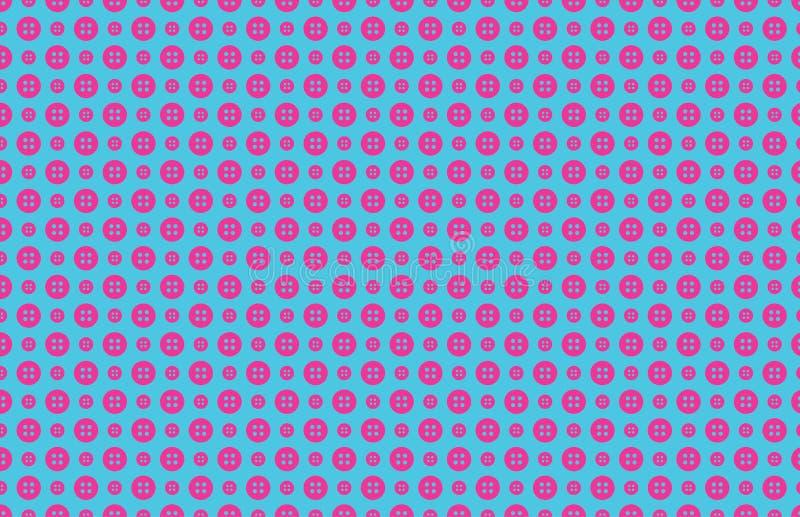 Het naadloze patroon van de knoop stock afbeelding